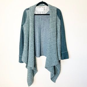 Anthropologie Saturday Sunday green knit sweater